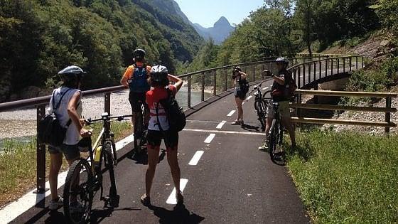 In bicicletta sulle grandi ciclabili delle Dolomiti, da Venezia al cuore dell'Europa
