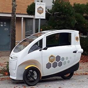 Veemo, la tribike al servizio del car sharing