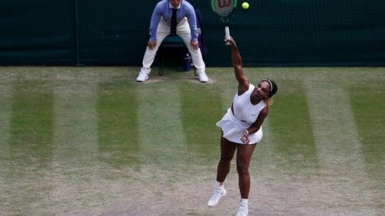 Tennis, Wimbledon: Serena Williams fa ancora storia. E' la più 'anziana' finalista di sempre. Sabato contro Halep