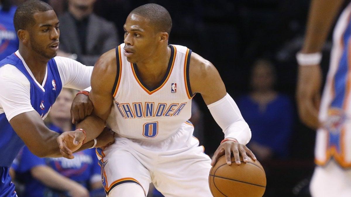 Mercato Nba, sorpresa Westbrook: va a Houston da Harden
