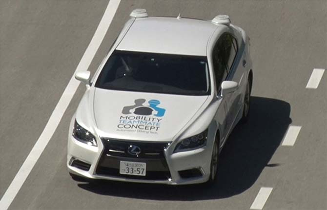 Toyota, al via la sperimentazione della guida autonoma in Europa