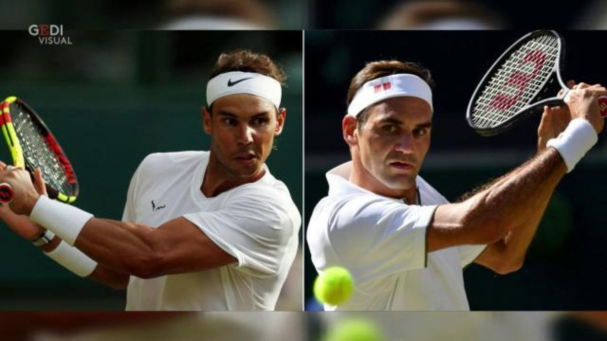 Wimbledon, Federer-Nadal 1-1 La diretta