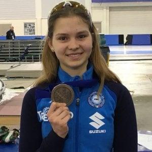 Pattinaggio, Laura Peveri bronzo ai mondiali due giorni dopo la morte del padre per incidente