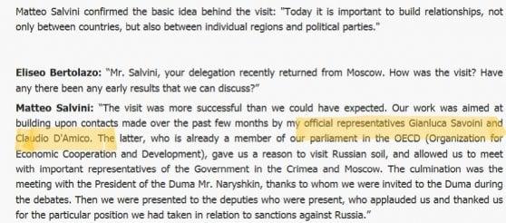 """Fondi russi alla Lega, la Procura sentirà Meranda, l'autore della lettera a Repubblica. Salvini: """"Non vado in Aula a parlare di fantasie"""""""