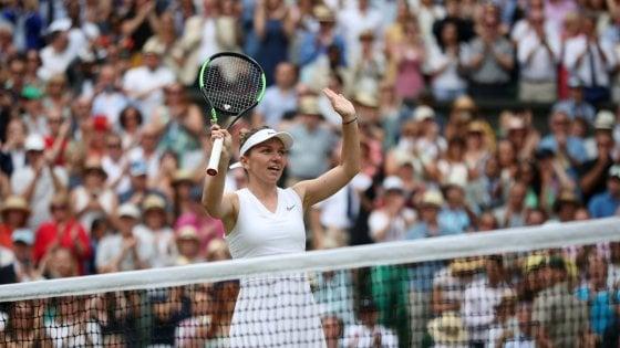 Tennis, Wimbledon: Halep è la regina. Serena Williams si arrende in finale