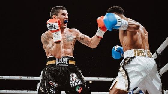 Boxe, Blandamura, non basta il coraggio: Morrison vince per ko