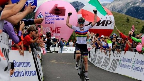 Ciclismo, Giro Donne: Finalmente Van Der Breggen. Ma Van Vleuten quasi regina