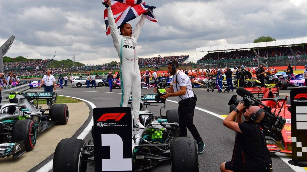 F1, a Silverstone trionfa Hamilton. Bottas secondo, Leclerc terzo ...