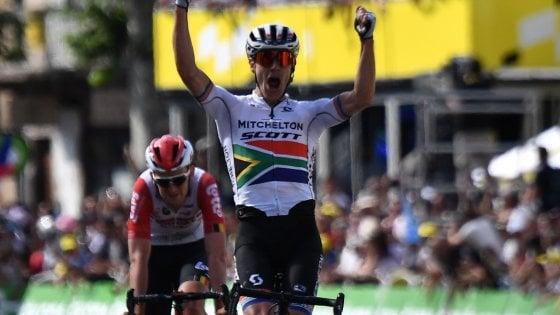 Ciclismo, Tour de France: Impey, fuga per la vittoria. Alaphilippe resta in maglia gialla