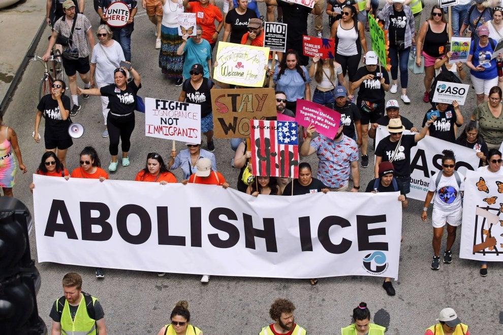 Raid anti-immigrati da Atlanta a San Francisco, proteste contro Trump