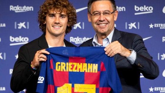 """Barcellona, Griezmann si presenta: """"Messi come Lebron, voglio vincere tutto"""""""