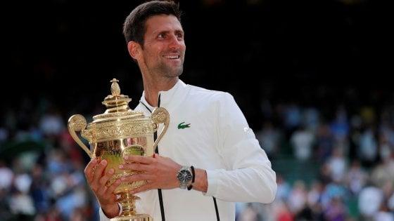 Tennis, classifiche: Djokovic e Barty sul trono, Fognini al nono posto