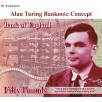 Il matematico Alan Turing sulla nuova banconota da 50 sterline