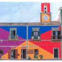 Ventotene, la piazza a colori di Daniel Buren divide gli abitanti dell'isola