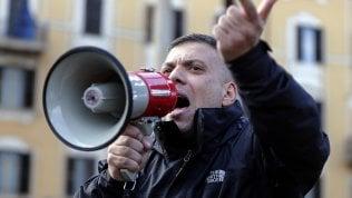 Scontri per casa a stranieri: pena di 4 anni al leader di Forza Nuova Castellino