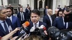"""Rep: Rubli e manovra, Conte: """"Salvini gioca a fare il premier"""""""