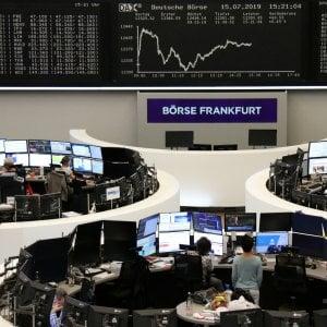 Borse, le trimestrali Usa spingono i listini europei