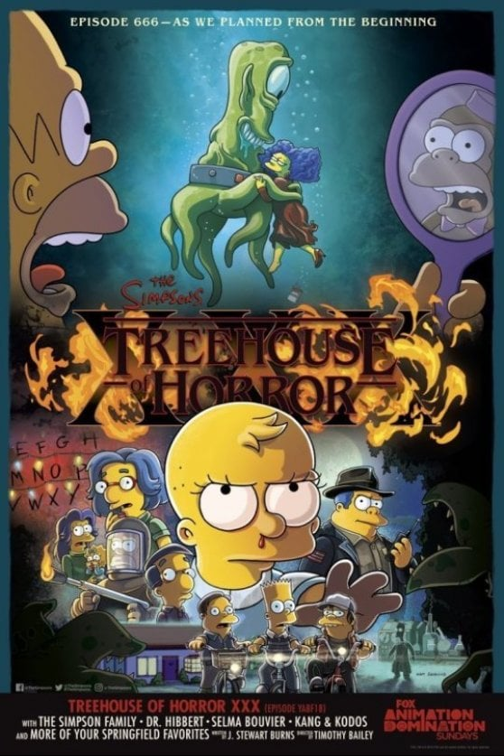 Se i Simpson finiscono dentro 'Stranger Things'. A Halloween la puntata parodia