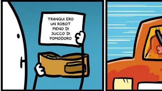 """Facebook censura Sio. Il fumettista: """"La mia striscia è satira contro chi non rispetta i diritti dei non italiani''"""