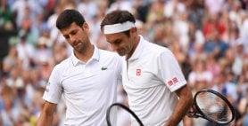 "Djokovic: ""Grazie Federer, scritto una pagina di storia"""