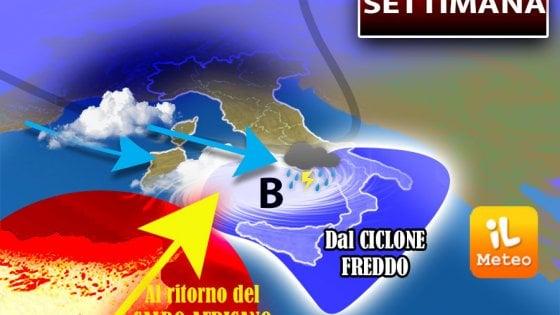Meteo: da domani torna il sole e il caldo africano