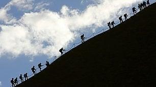 Uluru, ressa per ultime ascese