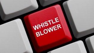 Effetto whistleblower: in Italia due denunce al giorno, soprattutto contro la corruzione