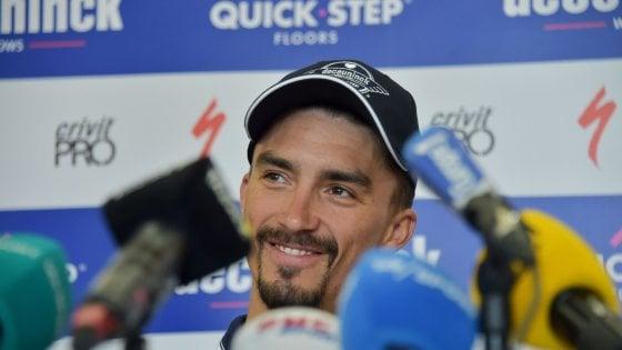 Ciclismo, Tour de France; Alaphilippe: ''La parte difficile deve ancora venire''