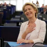 """Ue, Ursula von der Leyen eletta presidente della Commissione: """"La fiducia che avete in me..."""