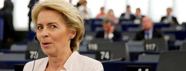 Ursula von der Leyen presidente della commissione Ue, eletta per soli 9 voti video