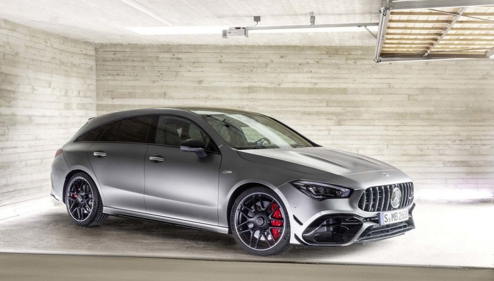 Mercedes CLA45 S AMG 4Matic Shooting Brake