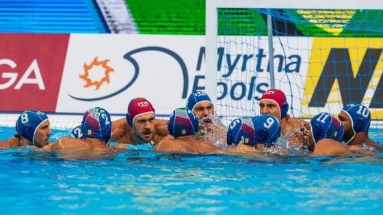 Pallanuoto, Mondiali: bis del Settebello, Giappone battuto 9-7