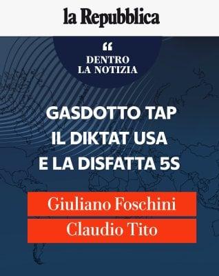 Gasdotto Tap, il diktat Usa e la disfatta 5s
