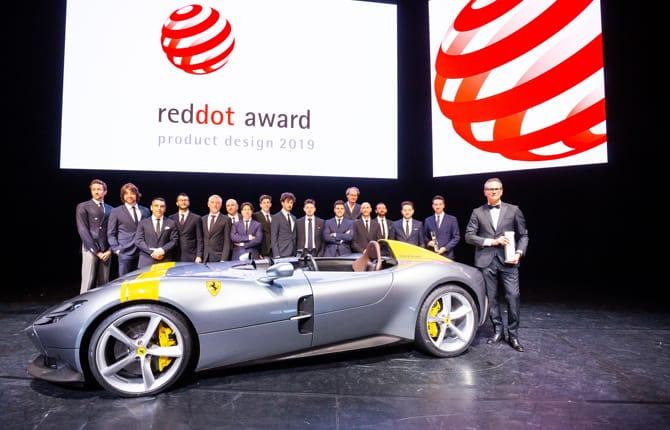 Un premio in più per Ferrari