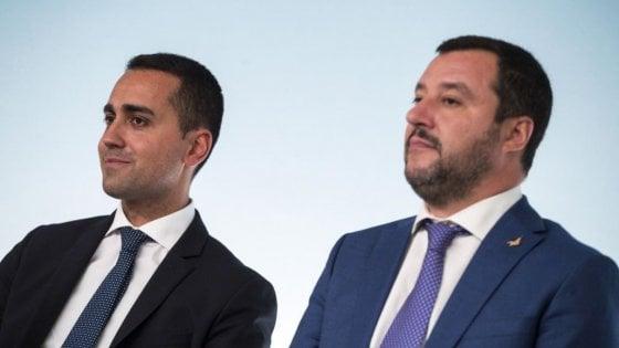 """Governo, voci di crisi. In serata Salvini dice: """"Non cadrà alcun governo"""""""