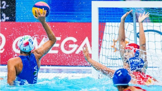 Pallanuoto, Mondiali: Setterosa ai quarti, Cina travolta 14-6