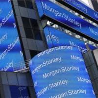 Morgan Stanley, utile in calo ma meglio delle attese
