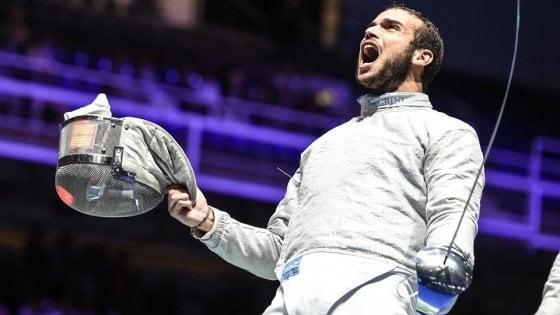 Scherma, Mondiali: medaglia di bronzo per Curatoli nella sciabola, flop nella spada femminile