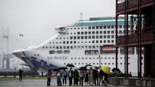 Yokohama. La Sea Princess, tra le cruiser cooptate