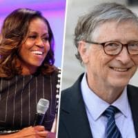 Michelle Obama e Bill Gates i più ammirati al mondo. Xi batte Trump