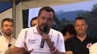 "Salvini su Carola Rackete: ""Pure la zecca tedesca mi ha denunciato"""