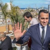 """Di Maio: """"Escludo la crisi, meglio se oggi ci vediamo con Salvini"""". Il leader leghista:..."""