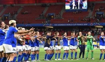 Il boom delle ragazze azzurre: un italiano su tre le ha seguite ai Mondiali