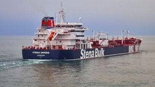 La petroliera britannica Stena Impero