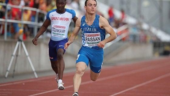 Europei Atletica U20, storica Italia: doppio oro nei 100 metri