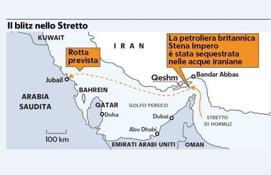 Iran sequestra una petroliera. Falso allarme per un altro cargo, Usa denunciano l'escalation di violenza