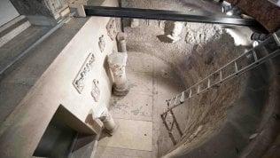 L'ispezione al Cimitero Teutonico