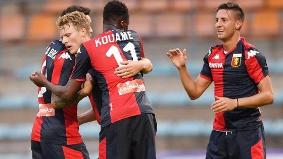 Amichevoli, Genoa di lusso: 4-3 al Lione. Il Dortmund piega il Liverpool