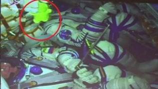 Ecco perché c'era un pupazzettoinsieme a Parmitano sulla Soyuz