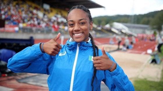 Atletica, Europei Under 20: Larissa come mamma Fiona May, oro nel lungo